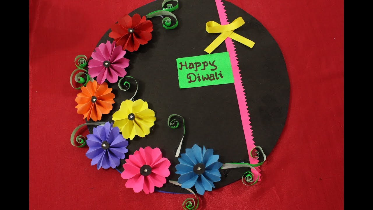 elegant 80 diwali greeting card handmade easy