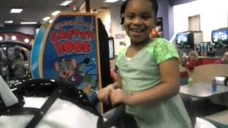 Kendall at chuck e cheese