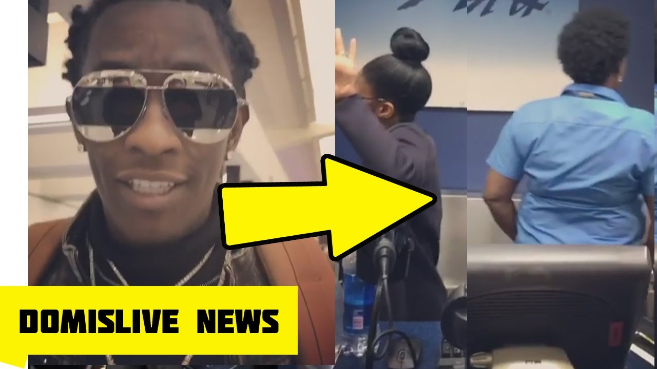 Young Thug Goes off On Two Women at the Airport 😬 - YouTube 8278a711d