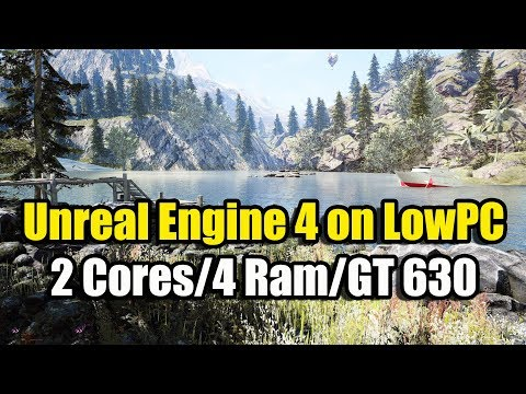 Запуск Unreal Engine