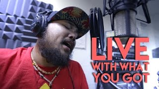 Chris Boomer- Live With What You Got (Acoustic Attack Guam)