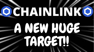 Chainlink A NEW HЏGE TARGET?? - Chainlink LINK Price Prediction - LINK Crypto