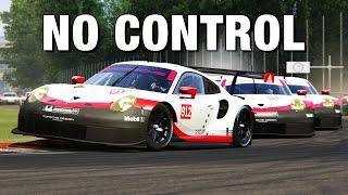 Porsche 911 RSR 2017 Monza Crazy Race!