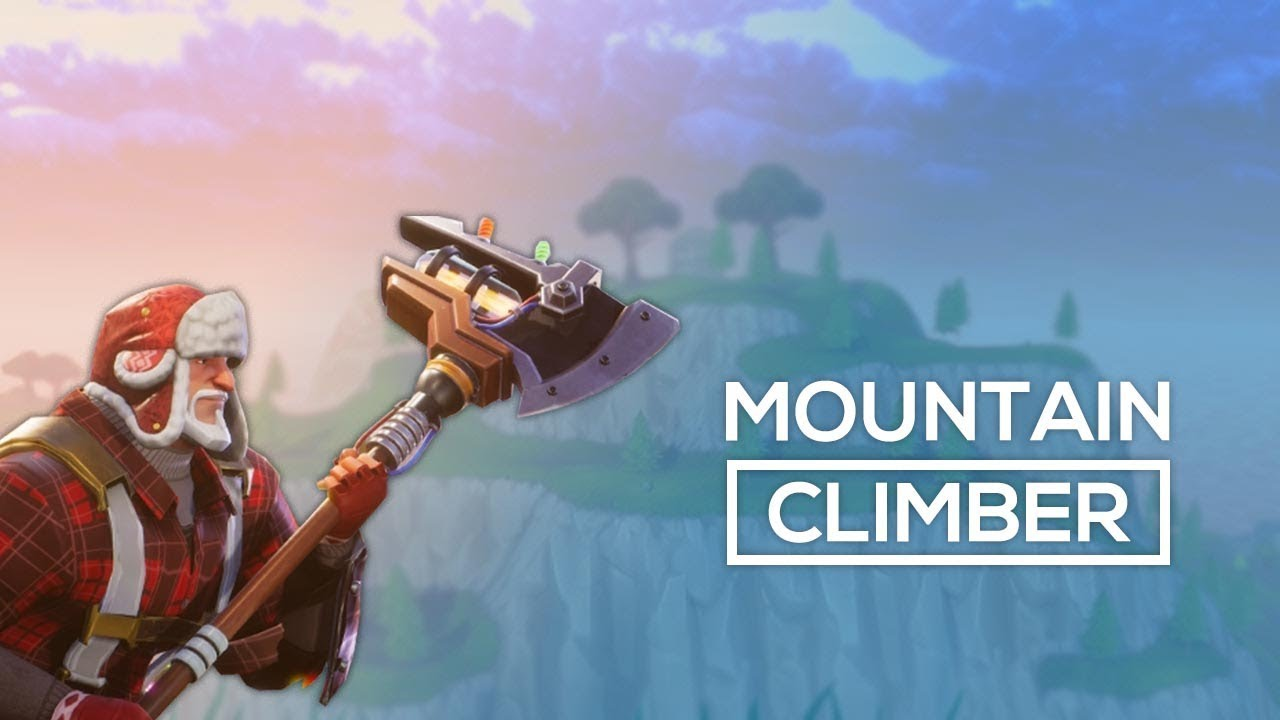 Mountain Climber Fortnite Battle Royale Gameplay Youtube