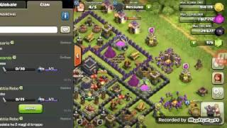Meno di 100 mura lv 8 da fare !!! Clash of o clans e spiegazione gemme