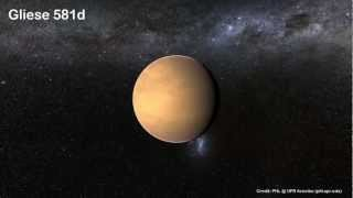 Approaching Gliese 581d