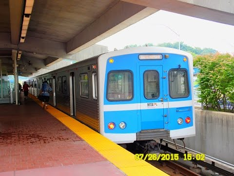 "🚇/💺 MTA Maryland: Baltimore Metro Subway to Owings Mills & ""RETURN TRIP""... FULL RIDE!"