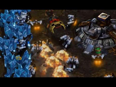 WORKER APOCALYPSE - Smile (T) vs White-Ra (P) on Heartbreak Ridge - StarCraft - Brood War 2021