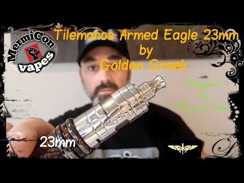 "Tilemahos Armed Eagle 23mm by Golden Greek & IMEO ""Ελληνική Παρουσίαση"" & Στήσιμο ""Greek review"""