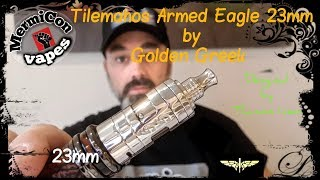 "Tilemahos Armed Eagle 23mm by Golden Greek & IMEO ""Ελληνική Παρουσίαση"" & Στήσιμο ""Greek review"""