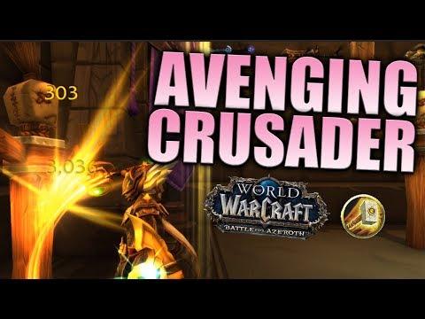 Holy Paladin BFA Talent Guide: Avenging Crusader 8.0.1