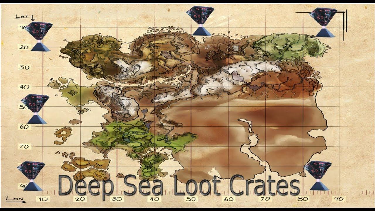 Ark Ragnarok: Deep Sea Lootcrates