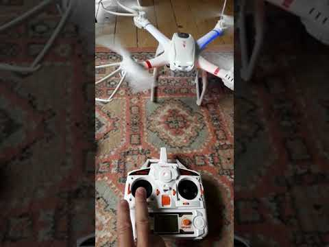 Profession Drones MJX X101 Quadcopter 2.4g 6-axis Rc Helicopter Problems