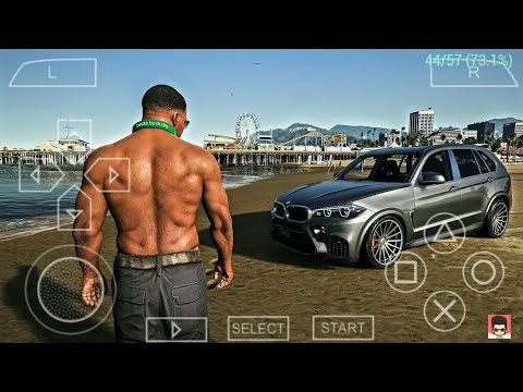 [12MB] GTA 5 PPSSPP ISO FILE For Android | GTA 5 PSP | How To Download GTA 5 Android PPSSPP
