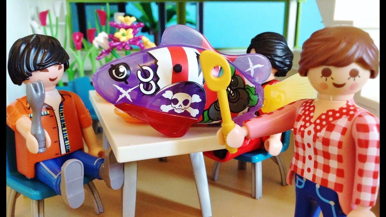 Playmobil & ROBO FISH - YouTube