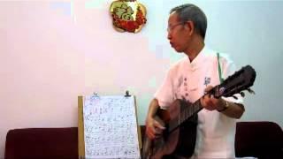 Hoc Guitar Bai 8 - dieu Blue - Long me