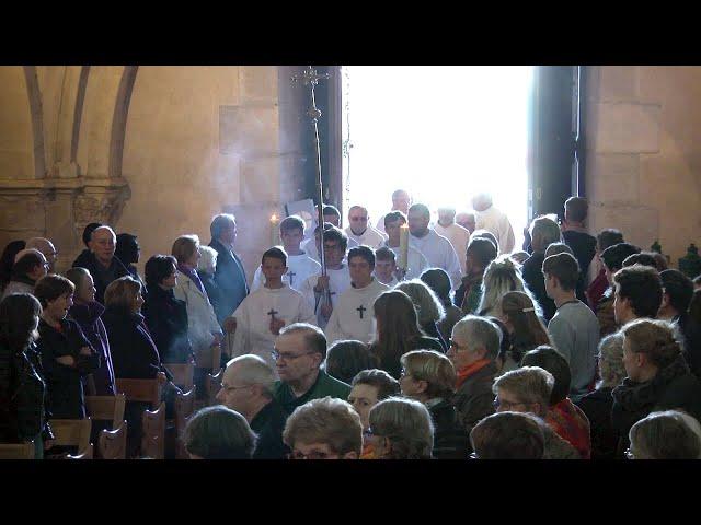 Messe chrismale 2019 : procession d'entrée