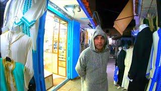 (4K) Night walk | Chefchaouen, Morocco 🇲🇦