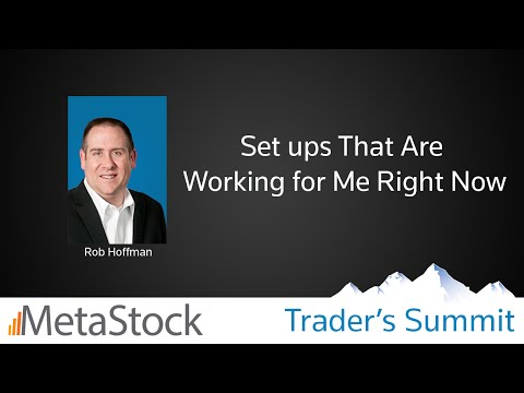 Set ups That Are Working for Me Right Now  – Rob Hoffman