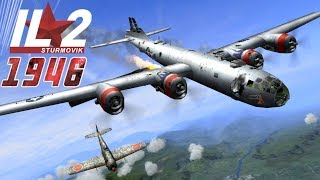 IL-2 1946: B-29 Superfortresses attacked by Japanese Fighters