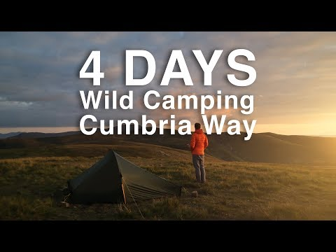 Four Days on the Cumbria Way