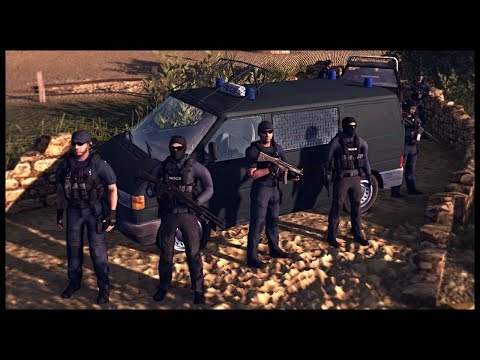 ITALIAN CARABINIERI RAID MAFIA COMPOUND! Red Rising Mod