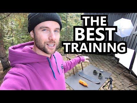 The Best Off Season Snowboard Training