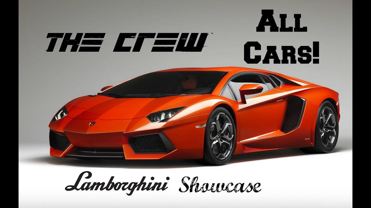 The Crew Lamborghini Showcase | All Lamborghinis - YouTube