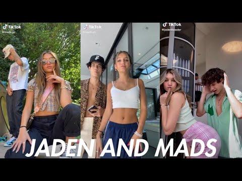 Jaden Hossler And Madison Lewis Best TikToks Together!   Best Tik Tok Couples 2020