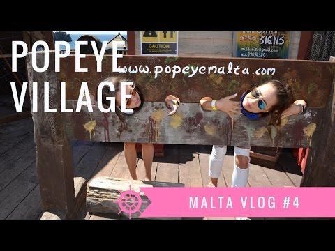 Popeye Village | Malta Vlog #4
