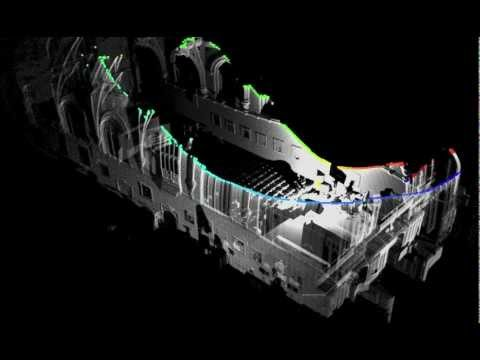 Ocular Robotics RobotEye lidar scan animation