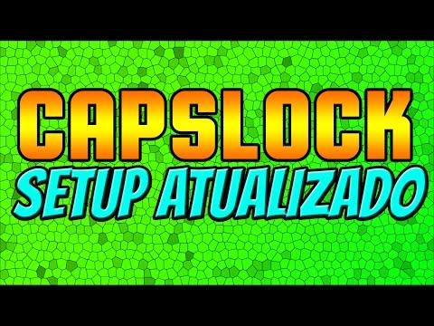 CAPSLOCK SETUP ATUALIZADO 2016