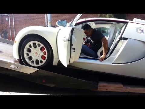 My New Bugatti Veyron delivered - AWESOME!!!