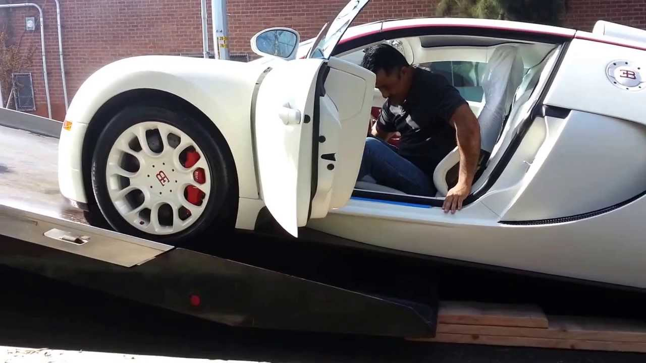 My New Bugatti Veyron Delivered Awesome Youtube
