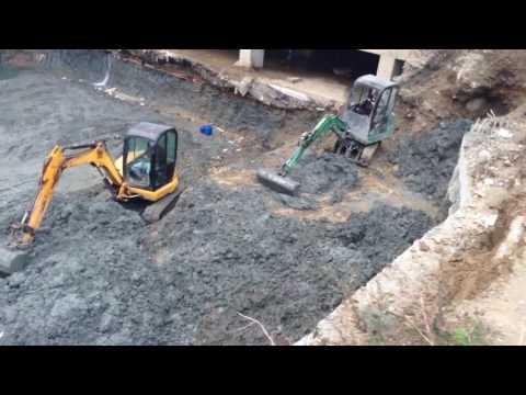 RC Truck  Mini Excavator Operation