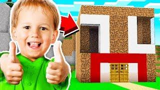 FAN MADE UNSPEAKABLE HOUSE IN MINECRAFT!