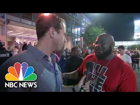 Charlotte Protesters Explain Why They've Taken To The Streets | NBC News