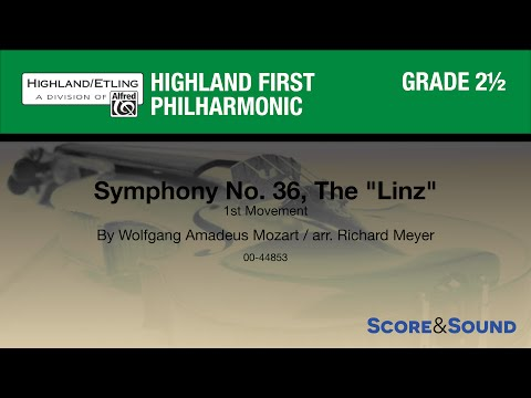 Symphony No  36., The Linz by Richard Meyer – Score & Sound