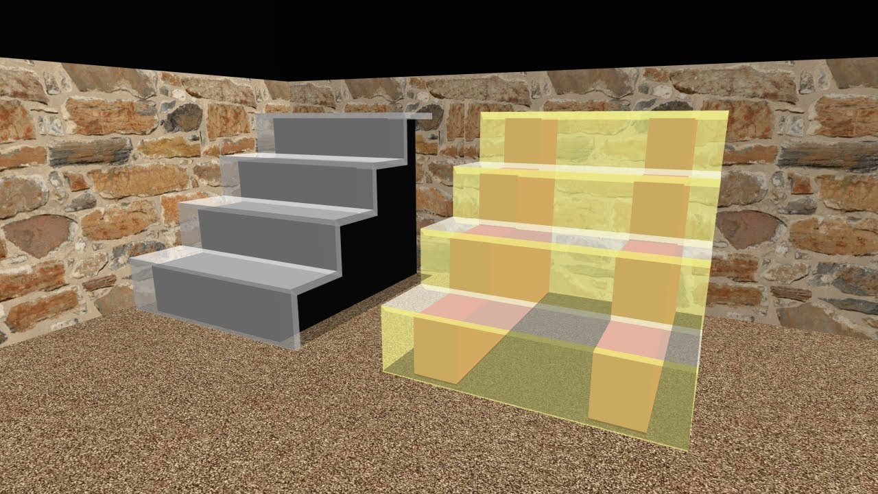 How To Make Stairs With A Glass 3D Model In Sweet Home 3D 02 | Staircase Sweet Home 3D | Floor Plan | Sh3D | 3D Model | Eteks | Software