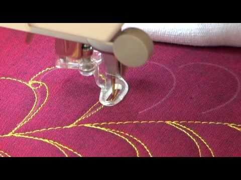 Demonstrating King Tut Egyptian Cotton Thread