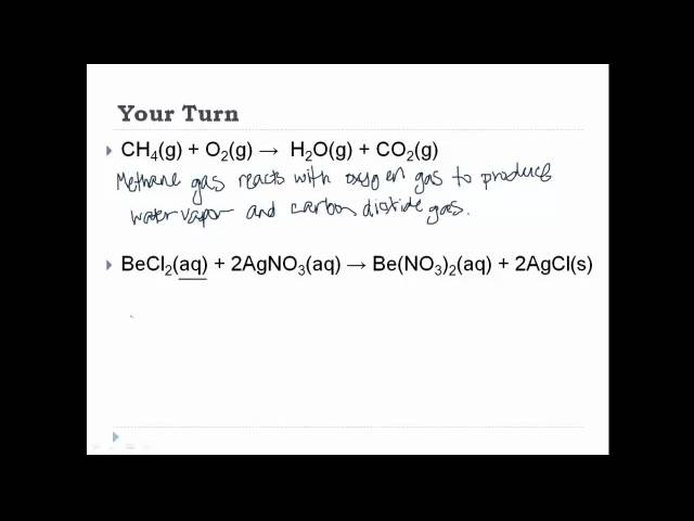 Copy Of Chemical Reactions Lessons Tes Teach