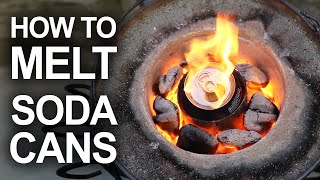 How to recycle scrap metal in the backyard, with a homemade, Mini Metal Foundry. Common materials in the Mini Metal Foundry [✓] Clay Graphite Crucible: ...