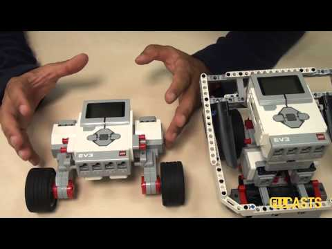 EV3 basics course. Build a robot (part 1)