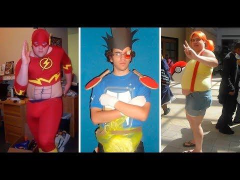 Los 10 peores cosplays del mundo; son tan malos que en realidad son muy buenos