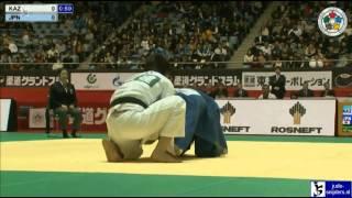 Islam Bozbayev (KAZ) - Yuya Yoshida (JPN) [-90kg]