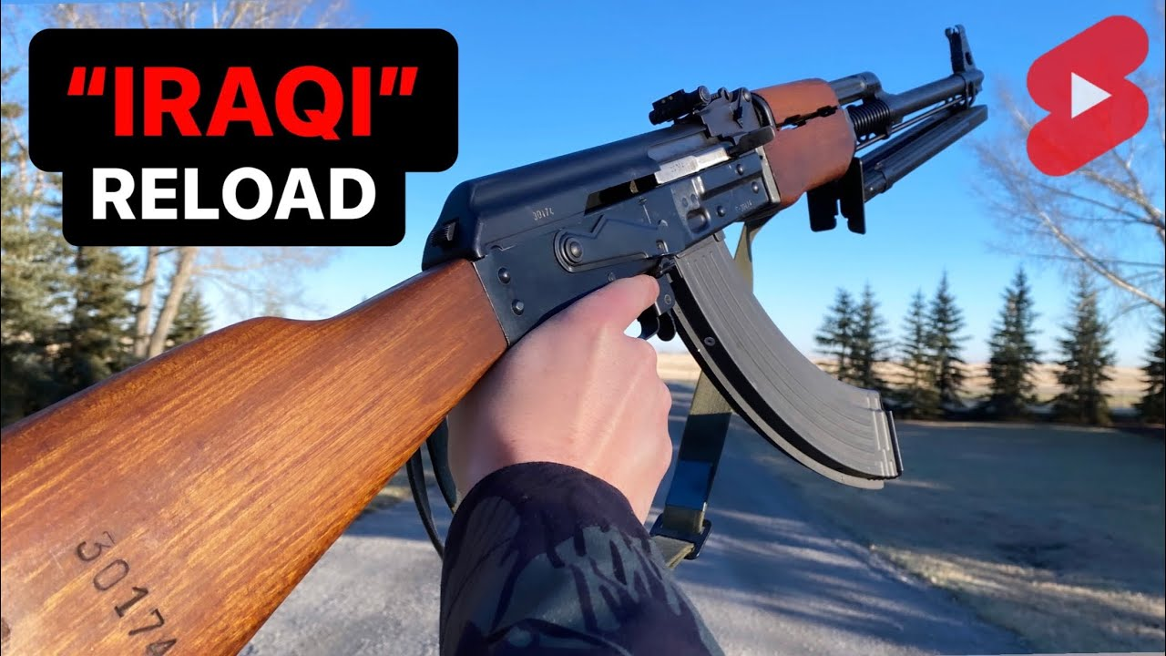"""The """"IRAQI"""" Reload is for smol AK only #Shorts"""