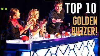 10 BEST GOLDEN BUZZERS EVER ON BRITAIN'S GOT TALENT!