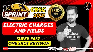 Electric Charges And Fields Class 12 One Shot #1 | CBSE Class 12 Board Exam 2021 Preparation