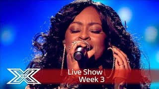 Repeat youtube video Relley C fights for her place with Can't Make You Love Me | Results Show | The X Factor UK 2016