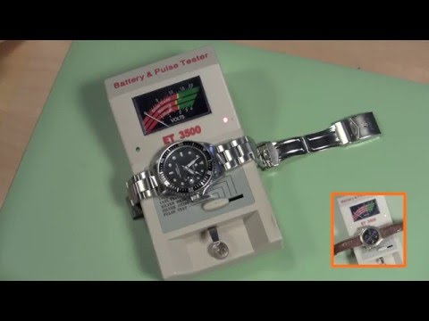 How to Test a Watch Battery OVERVIEW